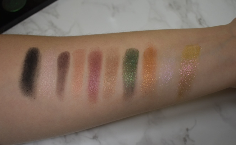 Mothership II: Sublime Palette Swatches