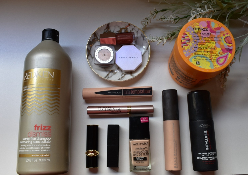 February Makeup and Hair Care Favorites